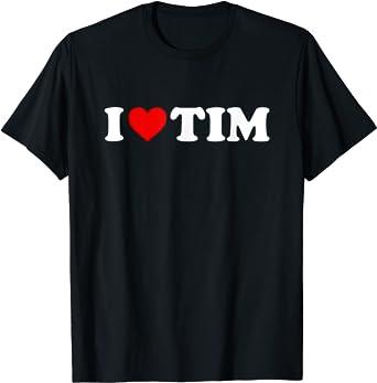 I Love Heart Persimmon T-Shirt