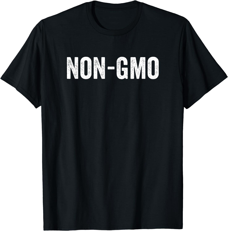 NON-GMO Natural Organic Nutrition Food Healthy Diet T-Shirt