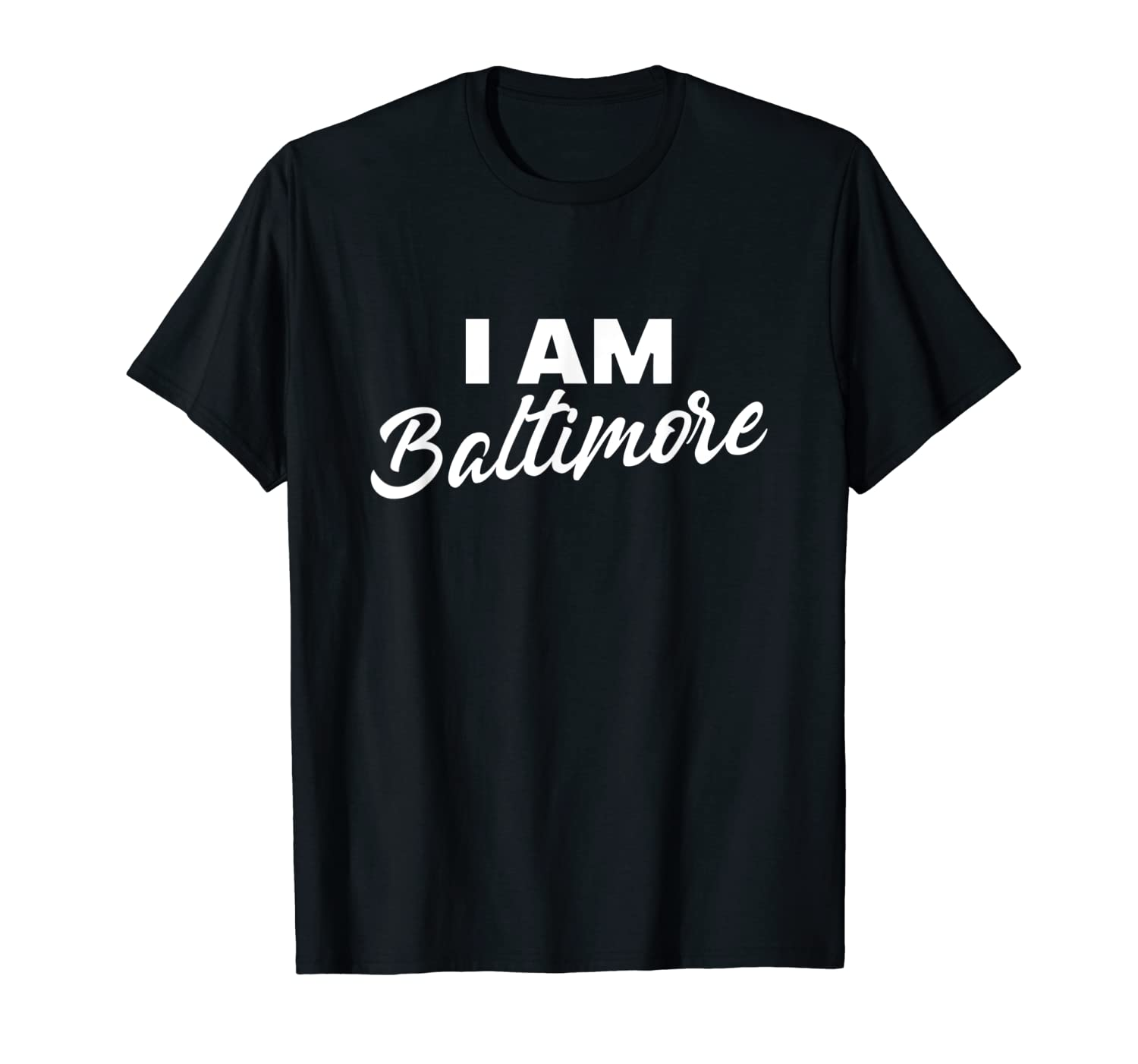 I Am Baltimore We Are African-American Pride T-shirt-ANZ