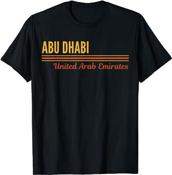 Abu Dhabi United Arab Emirates T-Shirt