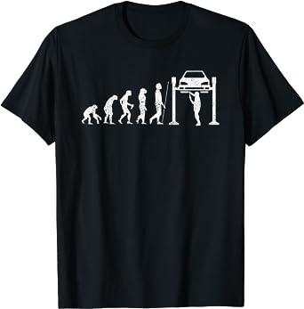 Hombre Camisa de Mecánico Divertido Regalo de Mecánica de la Camiseta