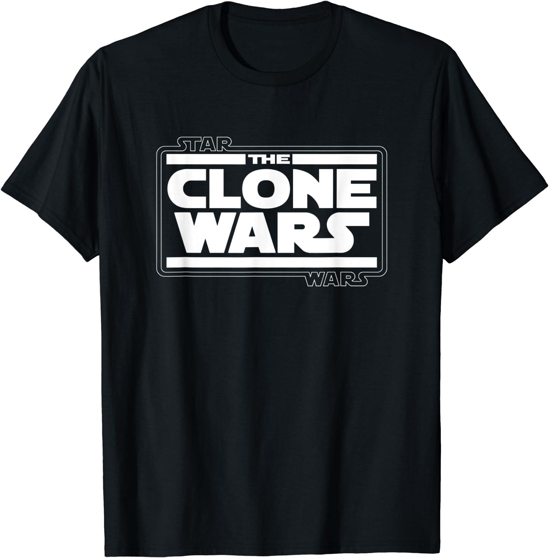 Star Wars The Clone Wars Logo T Shirt