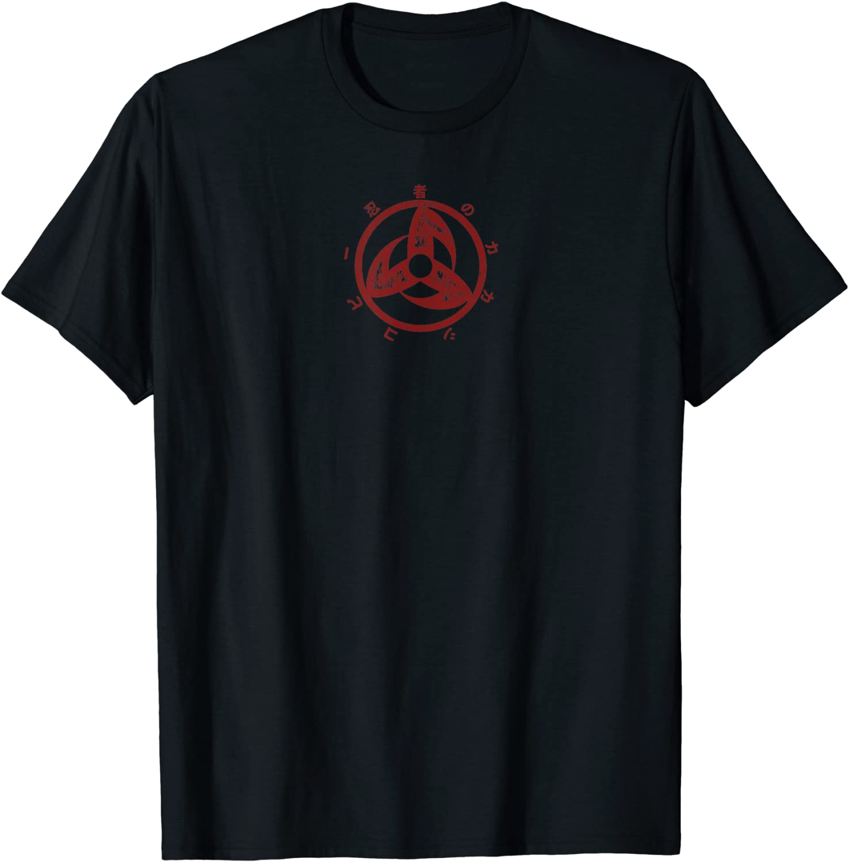 Hokage Kakashi Clan trois Tomoe Sharingan T-shirt Cosplay Tee shirts en coton Tops