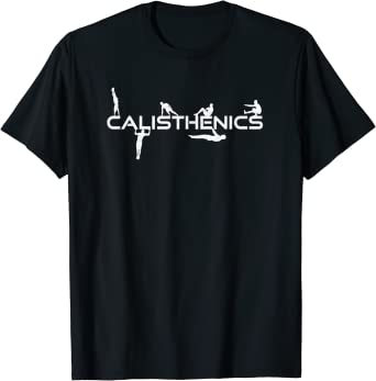 calisthenic exercise Gym Training Muscle workout Mens T-Shirt