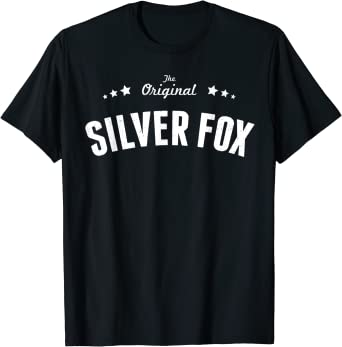 Mens Silver Fox Original T-Shirt