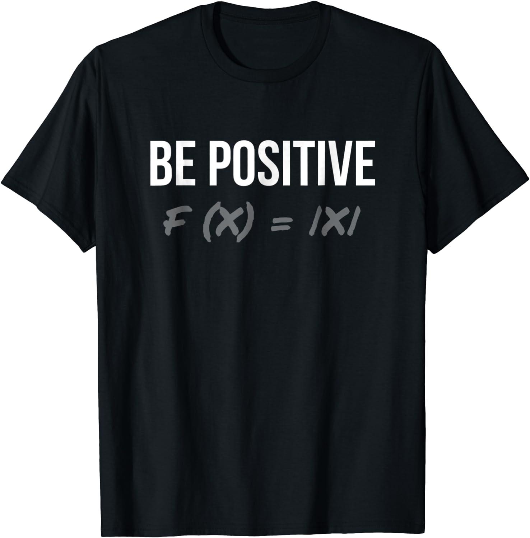 x = X Funny Algebra Math Teachers Joke Be Positive F