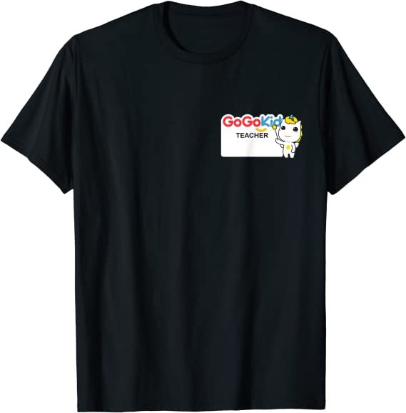 VIPKID Gogokid Magic Ears ESL  online Teacher star shirt tshirt