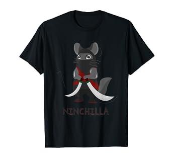 Amazon.com: Chinchilla Ninja Power - Camiseta de lucha ...