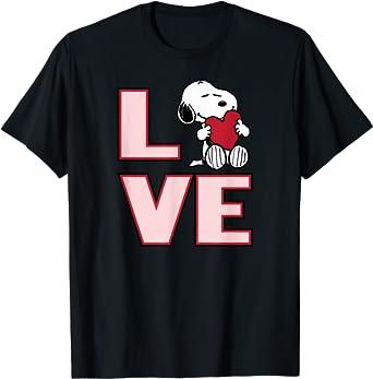 I Love Peanuts T Shirt