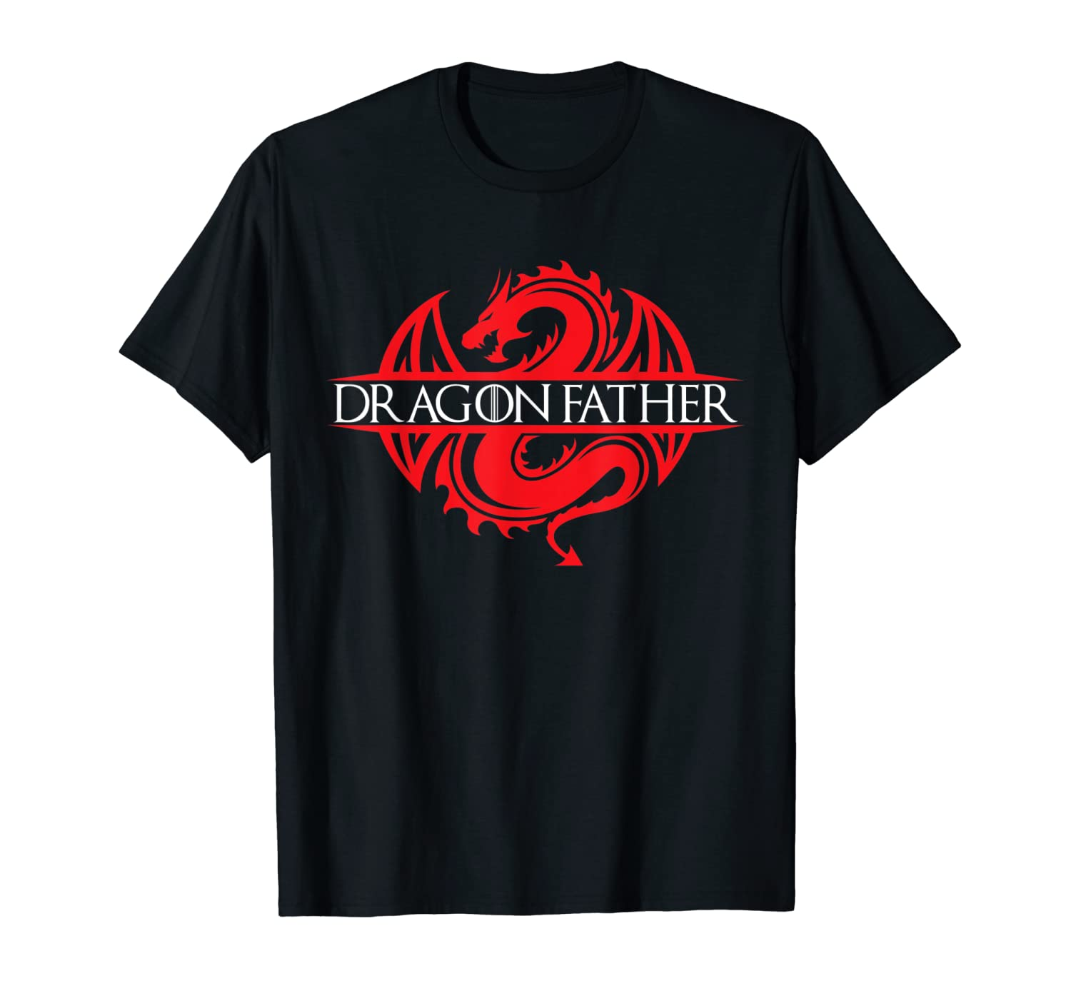 Dragon Father T-Shirt King or Queen Cosplay Tee Shirt T-Shirt-TH