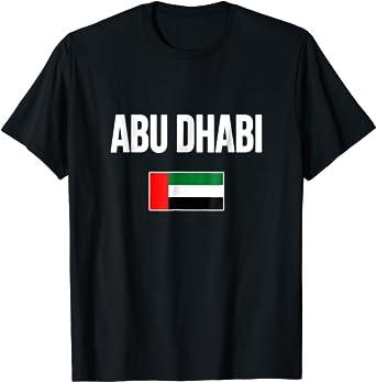 Abu Dhabi T-shirt Souvenir