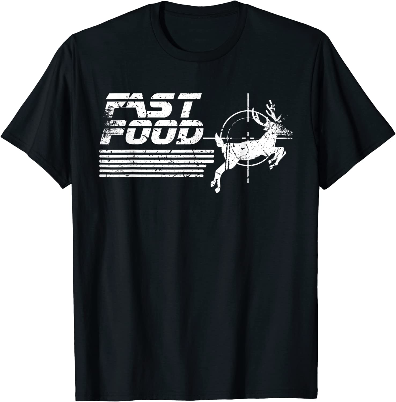 Funny Fast Food Deer Hunting T-Shirt