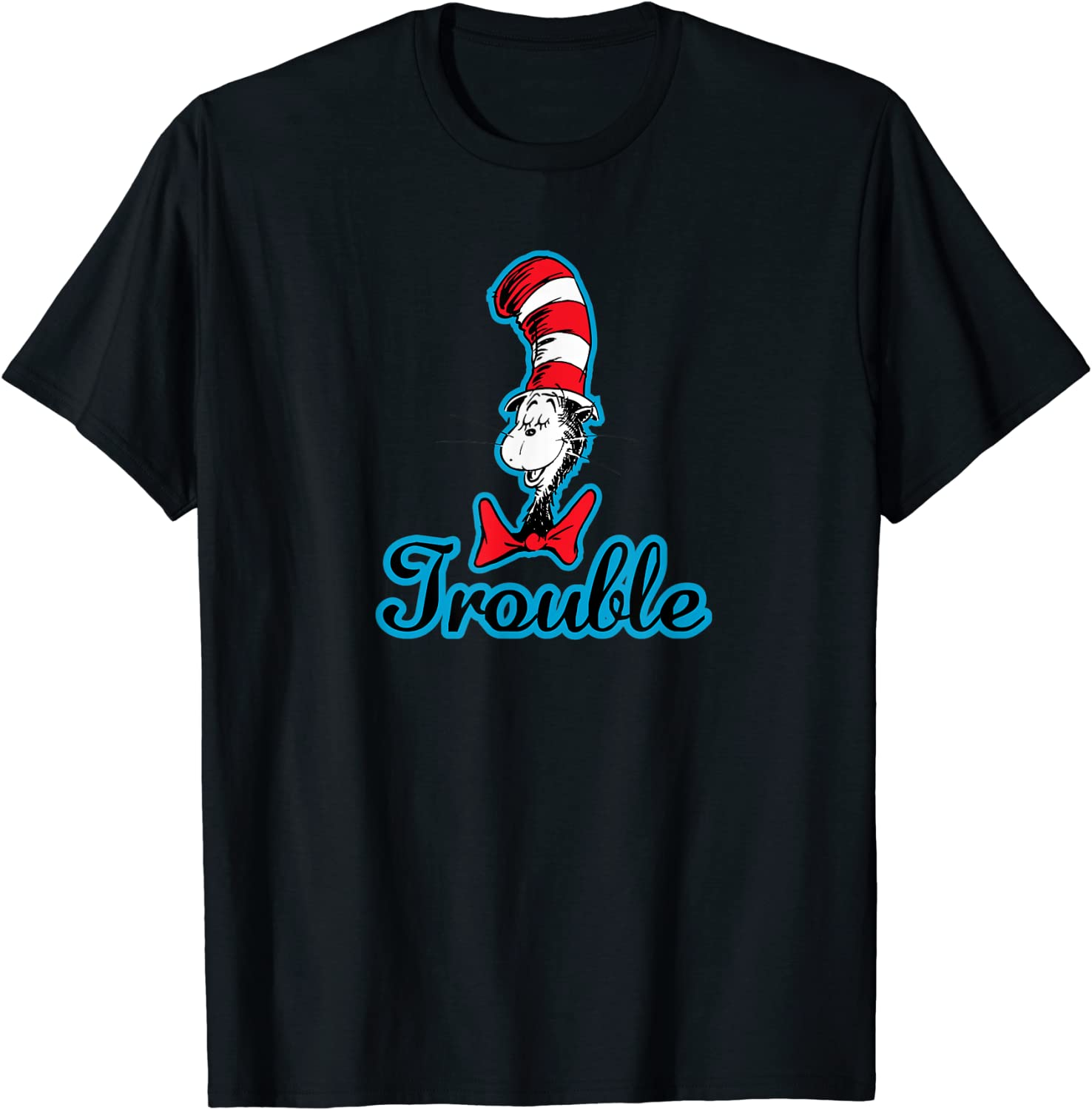 Dr. Seuss The Cat in the Hat Trouble T-shirt