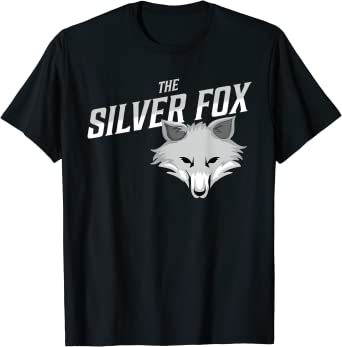 The Silver Fox holiday gift T-Shirt