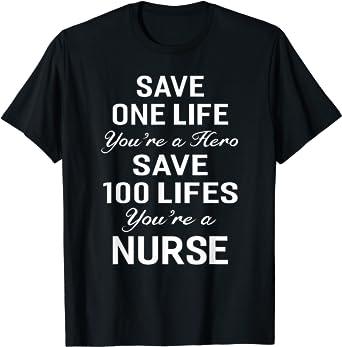 Part of My Life Is Saving Life T-Shirt Nurse Doctor EMT Medic Mens Tee Shirt