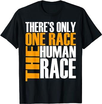 One Race Human  Short Sleeve Tee