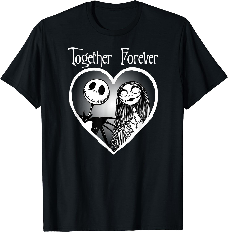 Disney Jack Skellington Together Forever T-Shirt