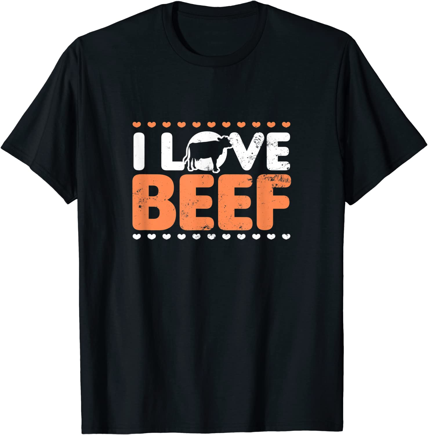 Meat Eater Design | I Love Beef Gift T-Shirt