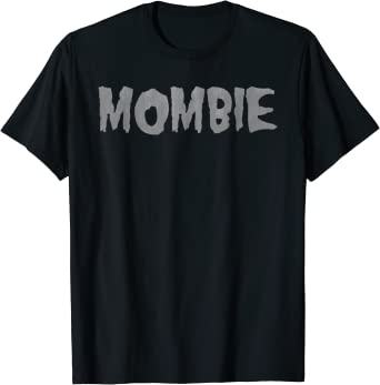 Halloween Mombie Zombie Spooky Mom Graphic T-Shirt