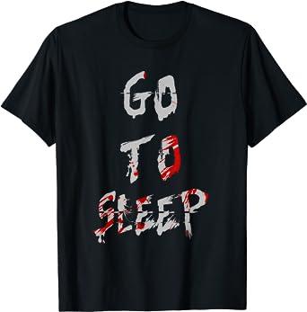 Kids Boys Girls You Can Not Sleep T-Shirt freddy halloween t shirt blood go