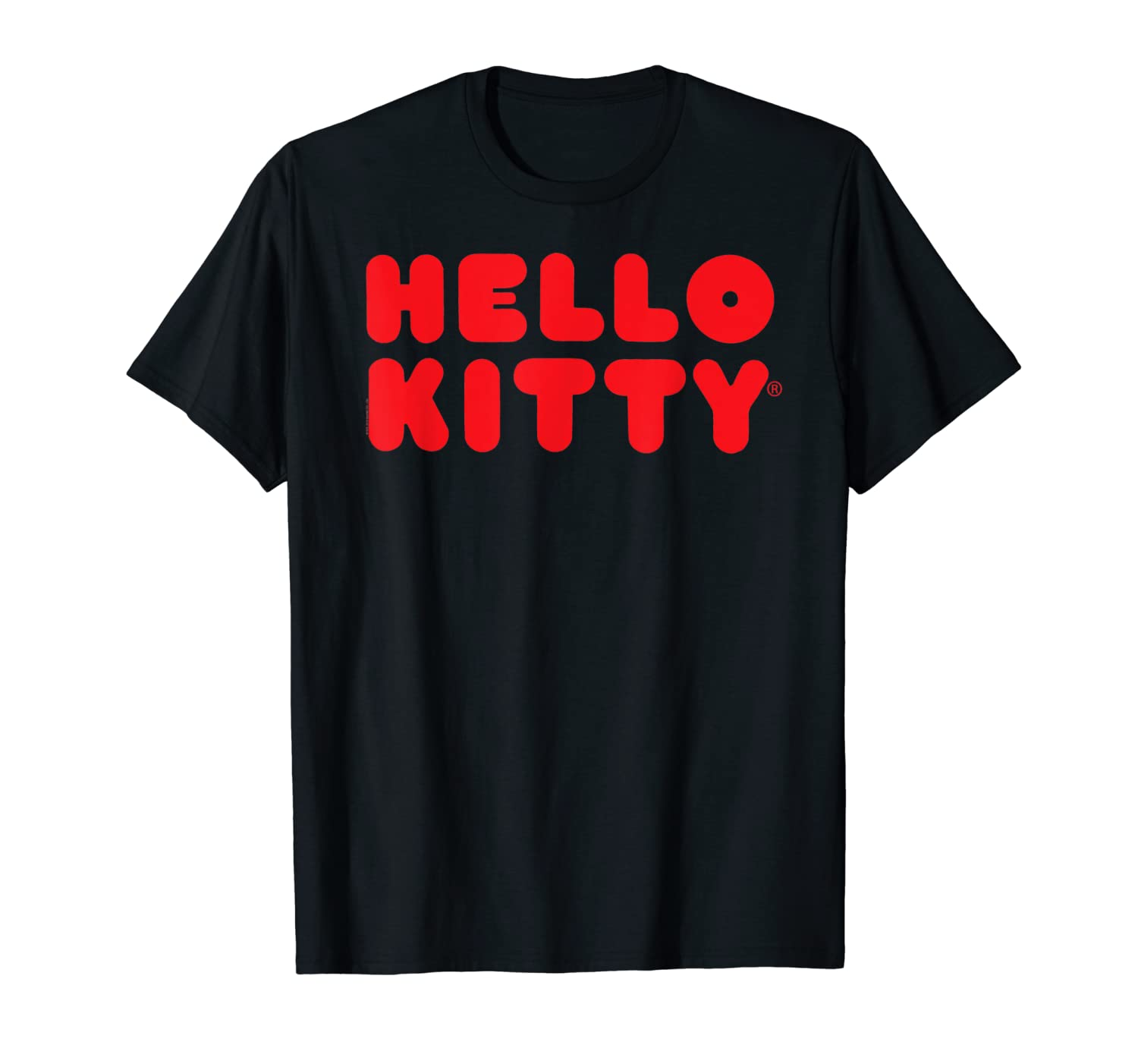 Hello Kitty - Rotes Logo T-Shirt