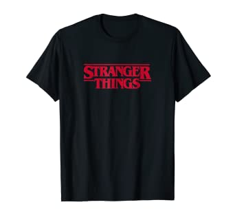 Amazon.com: Camiseta con logotipo de Netflix Stranger Things ...
