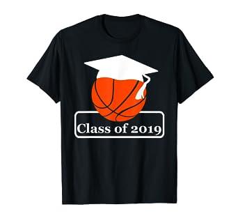 Amazon.com: Class Of 2019 - Camiseta de baloncesto para ...