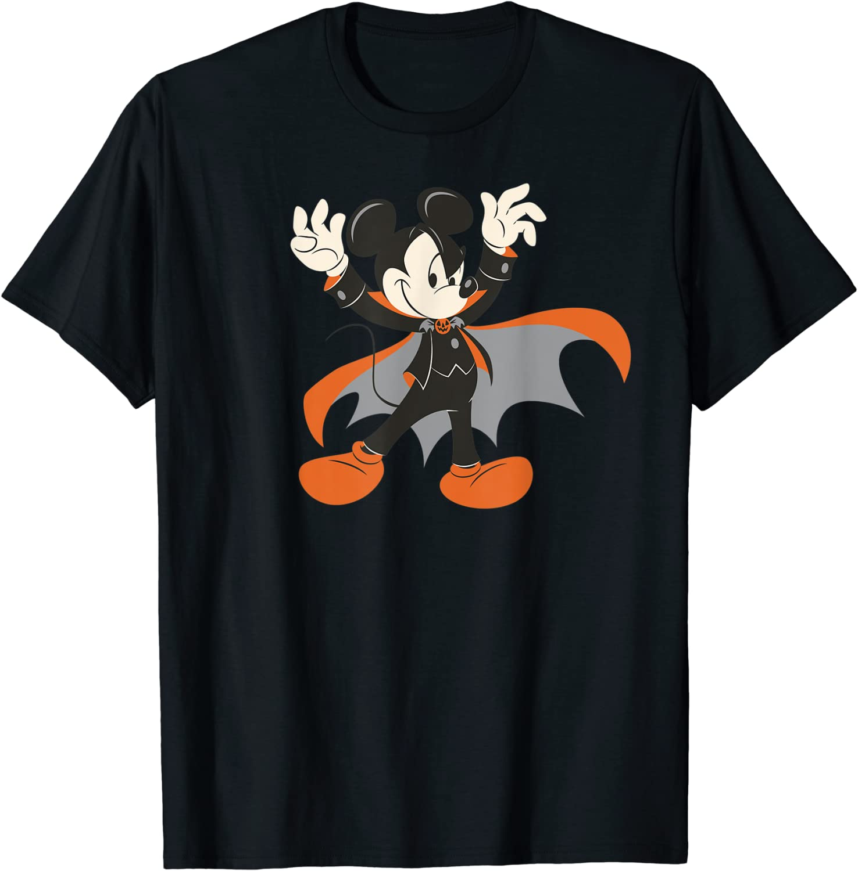 Disney Halloween Mickey Mouse Magic Art T-Shirt