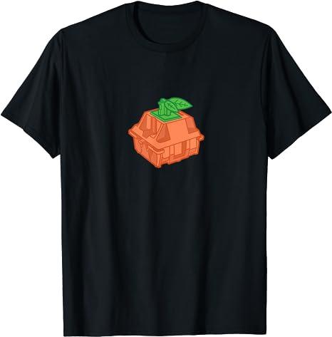 Tangerine Mechanical Keyboard Switch T-Shirt