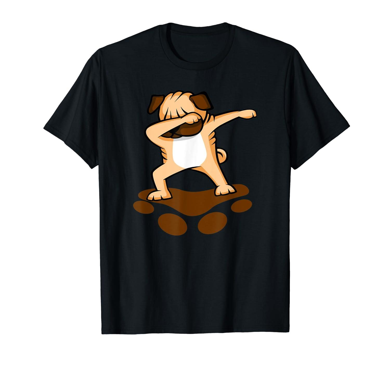 Dabbing Pug Dog Hip Hop Dab Dance Tee Vision T-Shirt