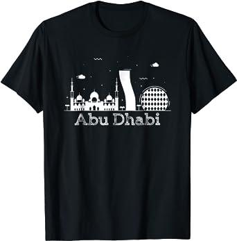Abu Dhabi TShirt SKYLINE