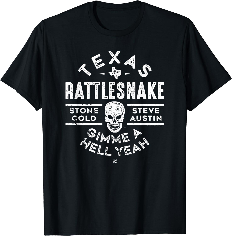 WWE Texas Rattlesnake Steve Austin Hell Yeah T-Shirt