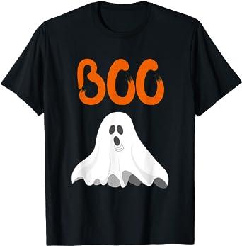 Halloween Kids Tee boo halloween shirt too cute to be scary Halloween kids shirt Halloween kids