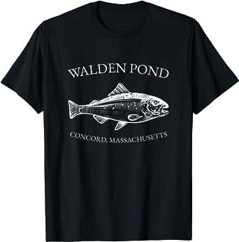 Henry David Thoreau Walden Pond Concord Massachusetts T-Shirt