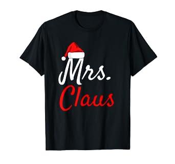 Amazon.com: Mrs Claus – playera Papá Noel bebé Claus Mama ...