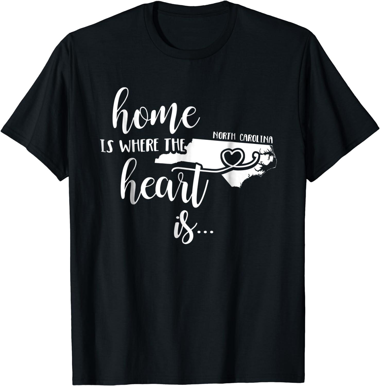 Top 10 North Carolina Home Tshirts