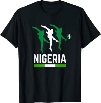 Nigeria Soccer Jersey 2019 Nigerian Football Team Fan Shirt