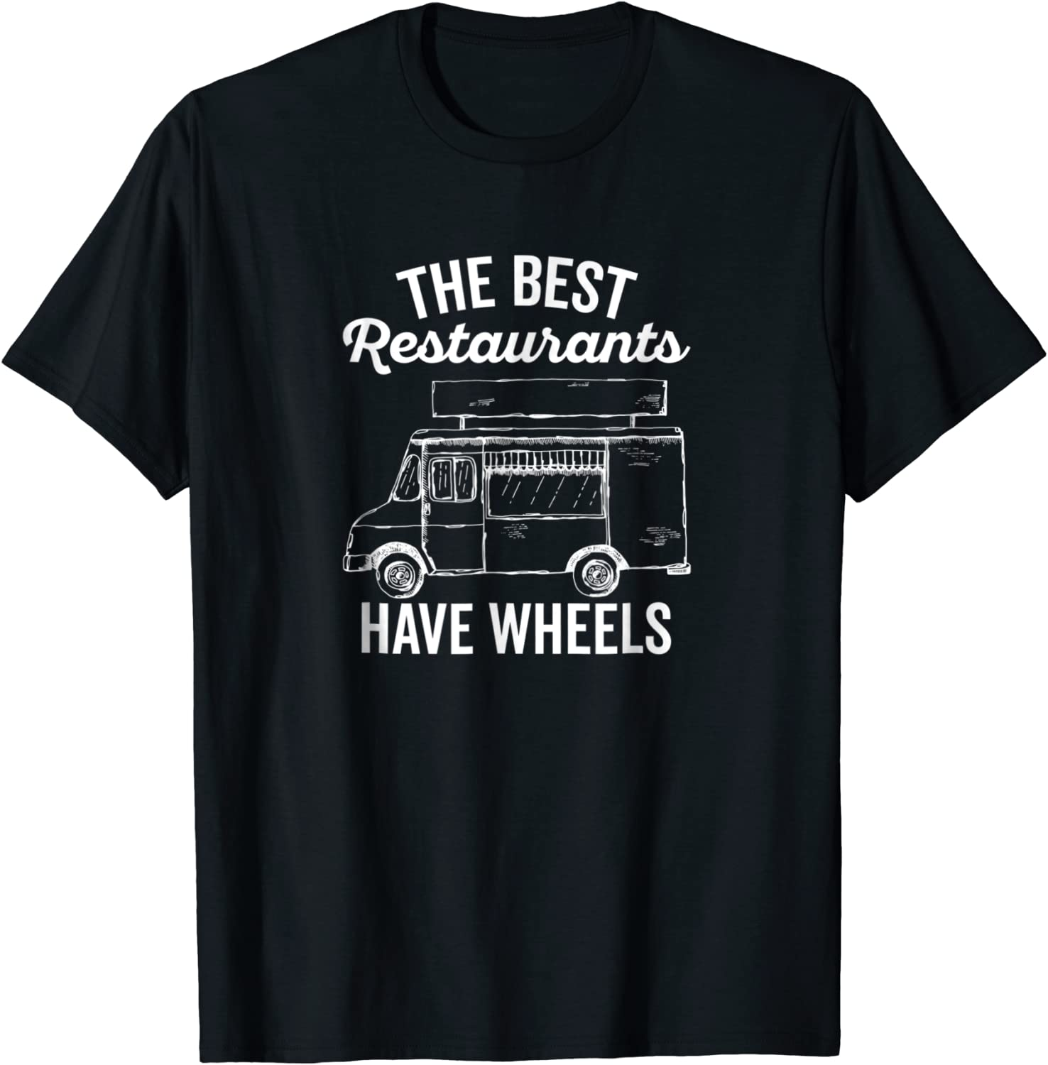Food Truck T-Shirt for Taco Truck Chef and Culinary Cook