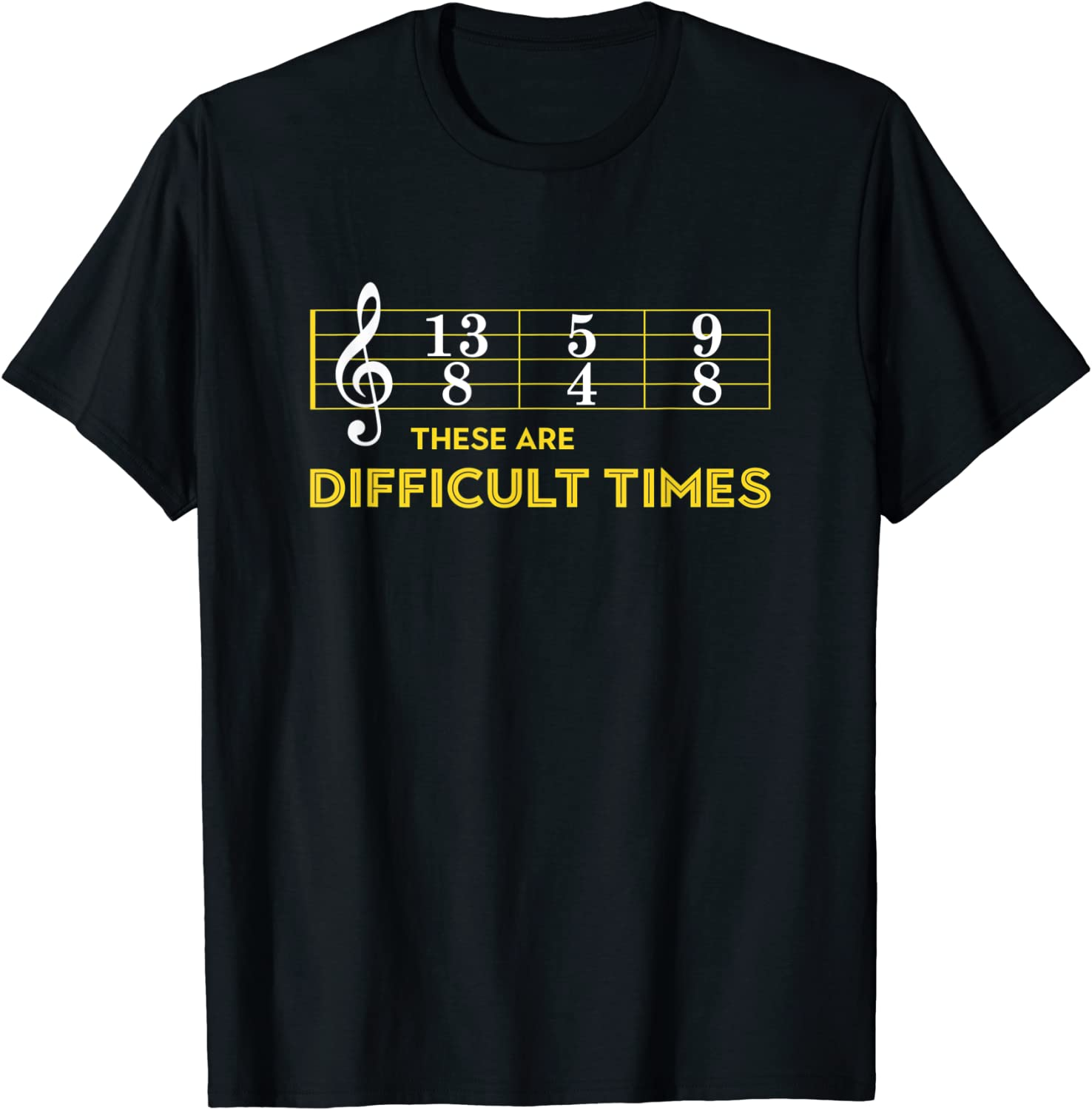 Musician OFFicial Sheet Bombing free shipping Music - These Difficult Times Are T-Shirt