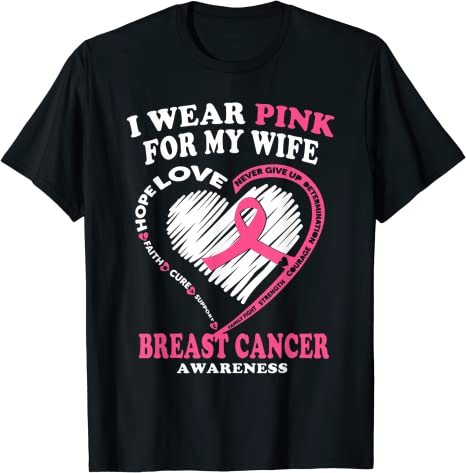 Mens Breast Cancer Awareness T Shirt Masswerks Store