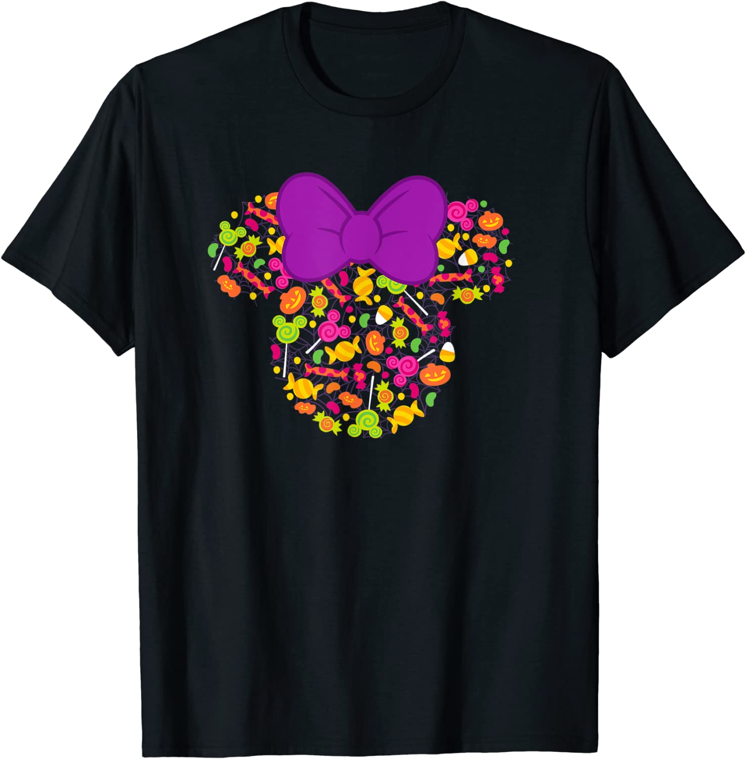 Disney Minnie Mouse Icon Candy Halloween T-Shirt