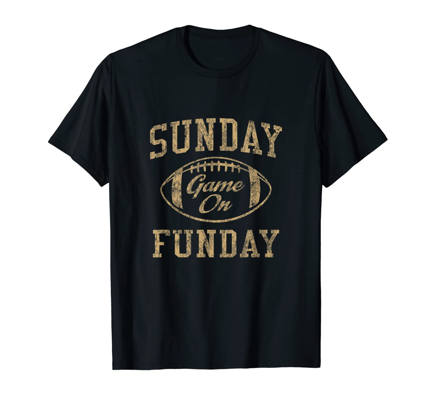 Vintage Sunday Funday T Shirt New Orleans Football Retro Tee-TH