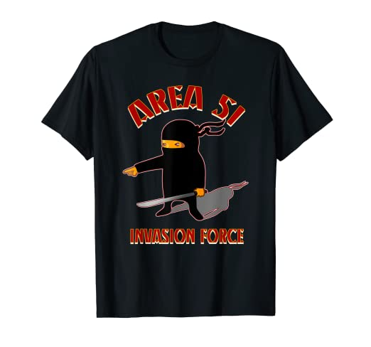 Amazon.com: Storm Area 51 Invasion Force Ninja Meme ...