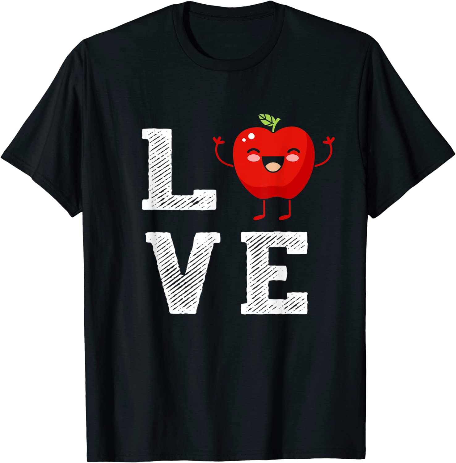 Apple Love - Apple Lover Outfit Funny Apple Cute Apple Gift T-Shirt