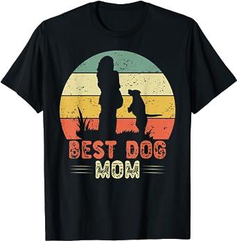 Best Dog Mom Ever Divertido perro de regalo idea de perro ...