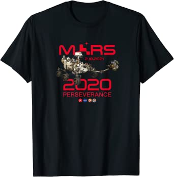 Jour de l'atterrissage de Perseverance Rover Mars 2020 T-Shirt