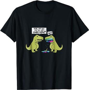 Funny Did You Eat The Last Unicorn Dinosaur T-Shirt