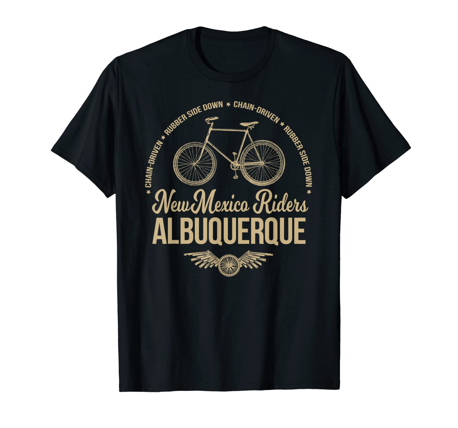 Albuquerque New Mexico Bicycle Cycling T-Shirt