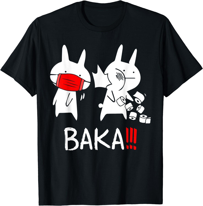 Baka Idiot Funny Japanese Anime Shirt Gift Men For OFFicial site gift T-Shi Women
