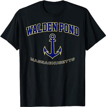 Walden Pond Shirt for Women, Men, Girls & Boys